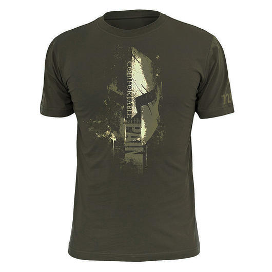 720gear T-Shirt Comfortable Pain oliv