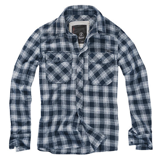 Brandit Hemd Great Creek Checkshirt indigo kariert