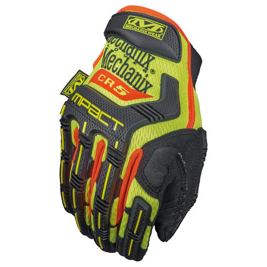 Mechanix Wear Handschuhe M-Pact CR5A3 HI-VIZ gelb