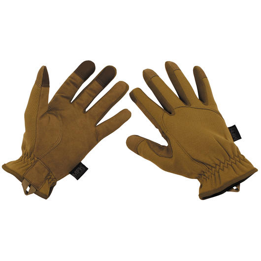 MFH Fingerhandschuh Lightweight Touch coyote tan
