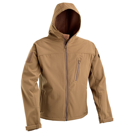 Defcon 5 Softshelljacke coyote tan