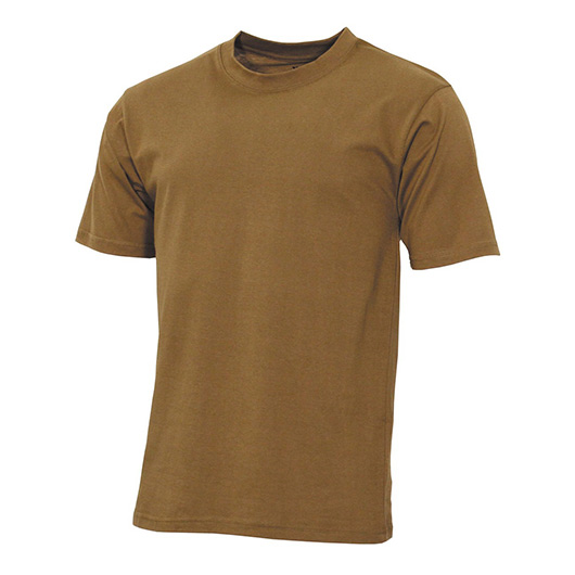 MFH US T-Shirt Streetstyle coyote tan