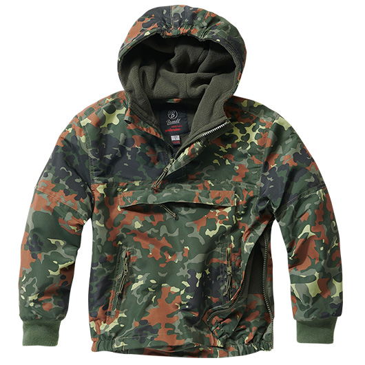 Brandit Windbreaker Kids flecktarn