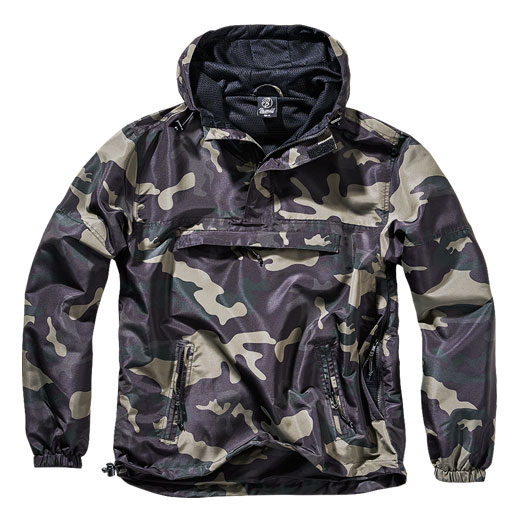 Brandit Windbreaker Summer darkcamo