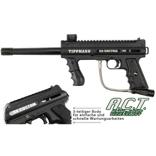 Tippmann Model 98 Custom ACT Platinum Series schwarz