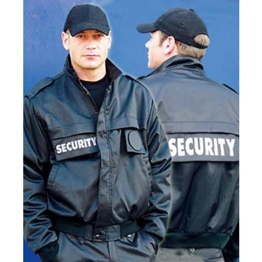 Security Blouson schwarz