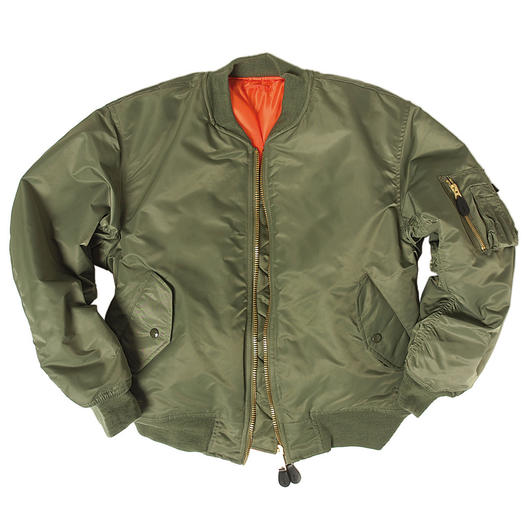 US Fliegerjacke MA1 Basic oliv