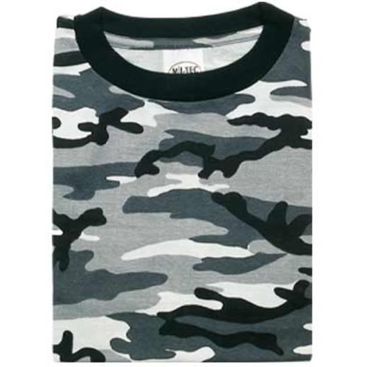 7a6cbc218fd529 MFH T-Shirt halbarm urban city camo günstig kaufen - Kotte & Zeller