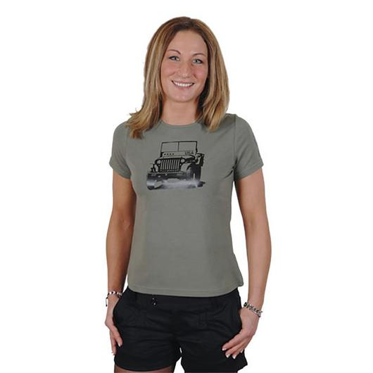 Ladies T-Shirts Willys oliv