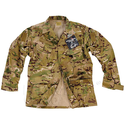 Combat Jacke Special Forces Helikon Tex, Camogrom