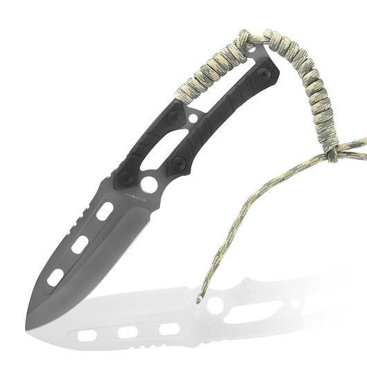BlackField Messer Skeleton Paracord sand-camo