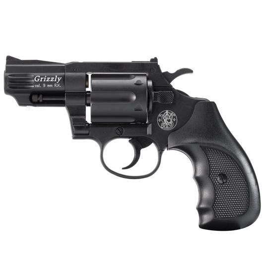 Smith & Wesson Grizzly Revolver 9mm, schwarz