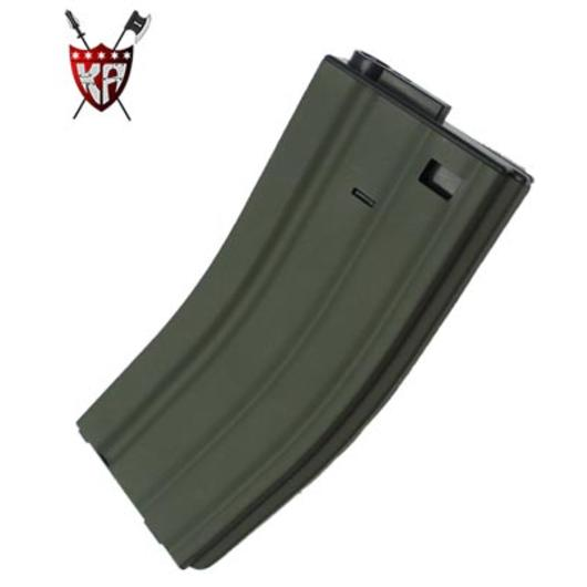 King Arms M4/M16 Magazin, 68 Kugeln OD