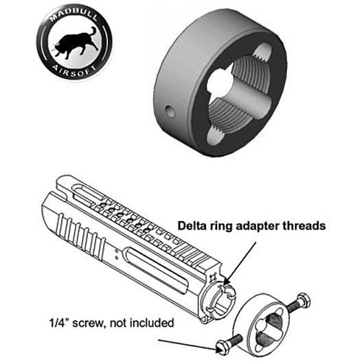 MadBull Delta Ring Modify Kit - Entry Level