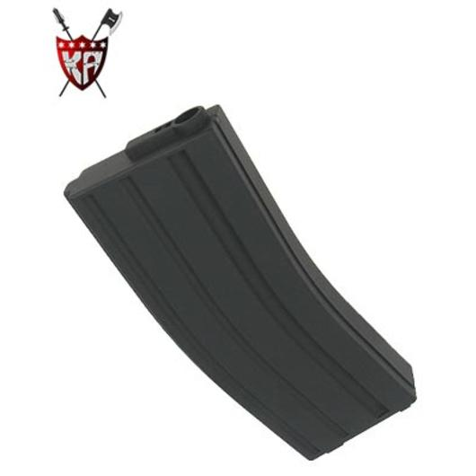 King Arms M4/M16 Magazin 120er schwarz