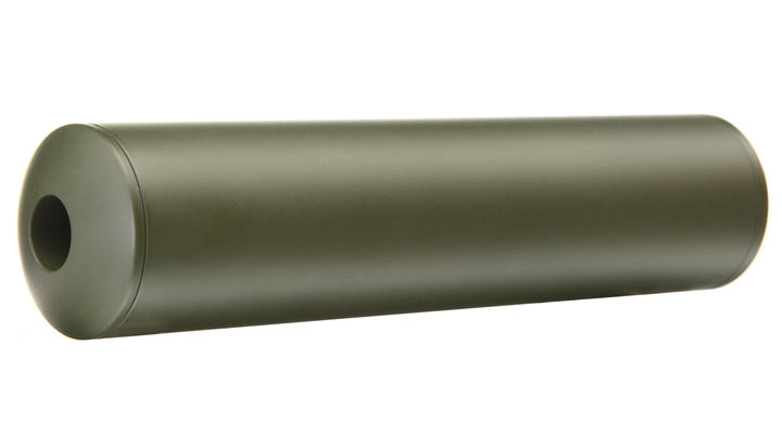 MadBull / Gemtech Blackside Aluminium Silencer oliv / OD 14mm -