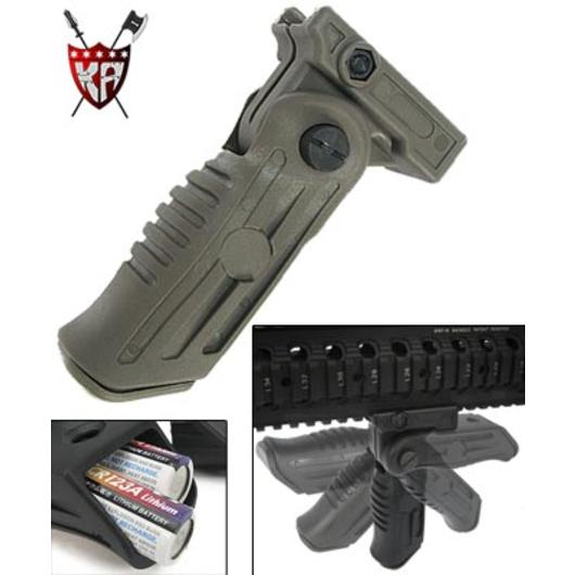 King Arms RIS 5-Position Tactical Grip dark earth