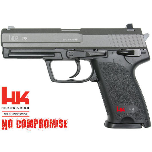 Heckler & Koch P8 CO2 Softair Pistole 6mm BB NBB