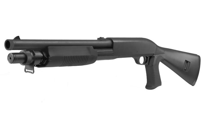 UTG Multi-Shot Combat Tactical Shotgun (Full Stock) Springer