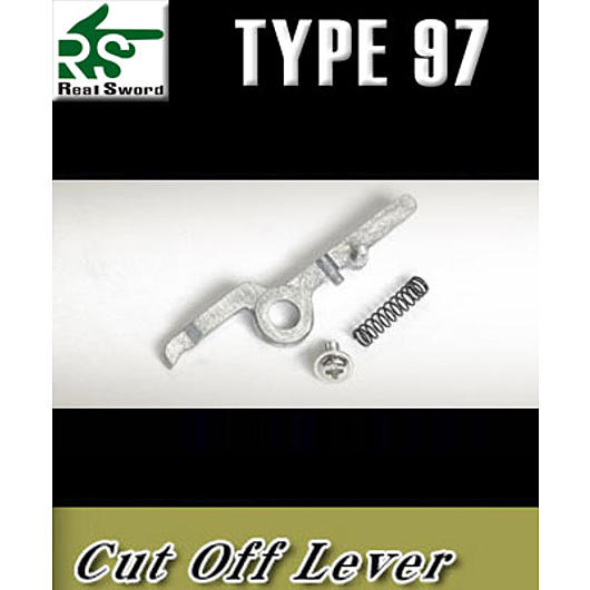 Real Sword T1 Cut-Off-Lever f. Type 97 Serie