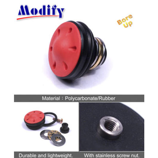 Modify Polycarbonate Piston Head (Bore Up)