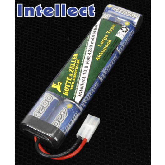 Intellect Akku 10.8V 4200mAh - Large Type