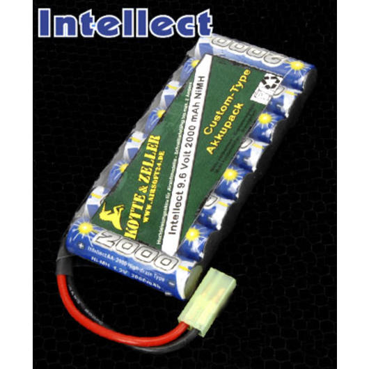 Intellect Akku 9.6V 2000mAh - Custom Type