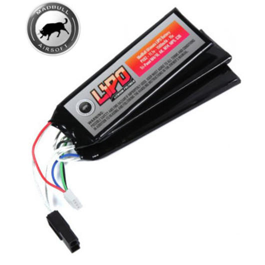 MadBull Ultimate LiPo Akku 11,1V 1500mAh 15C Tri-Panel Version