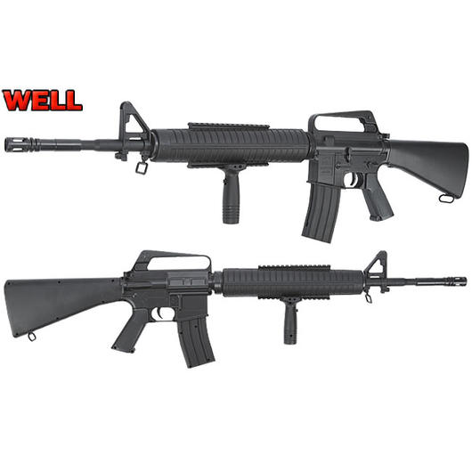 Well M16 A2 Springer Softair 6mm BB