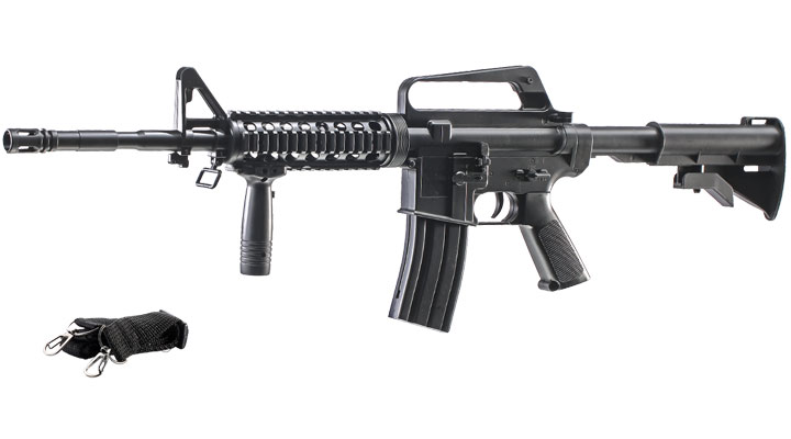 Well M16A4 R.I.S. Springer Softair 6mm BB