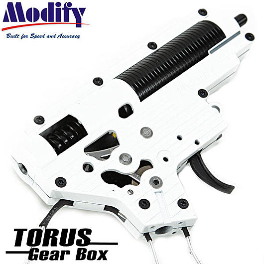 Modify 7mm Torus Complete Gearbox M120 f. M16A2 / A3