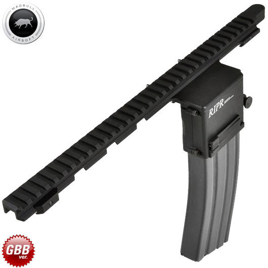 MadBull / Reset RIPR - Rifle Integrated Power Rail GBB Version schwarz