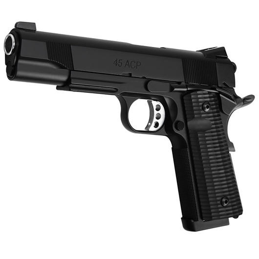 Socom Gear Les Bear 1911 Ultimate Recon 5 Vollmetall GBB inkl. Streamline Grip 6mm BB schwarz