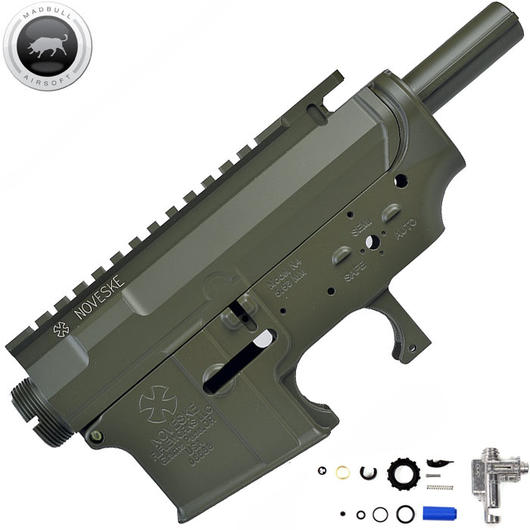 MadBull M4 Metallbody Noveske Rifleworks MUR (inkl. Ultimate Hop-Up Unit) oliv