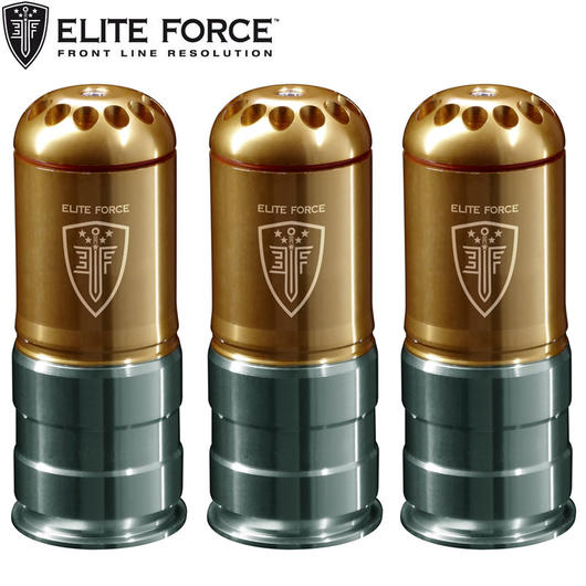 Elite Force 40mm Hülse 120 Schuss 6mm BB (3er Set)