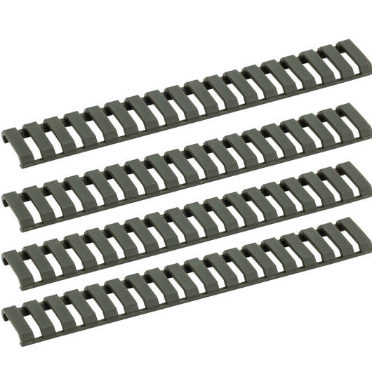 G&G Ladder Rail Cover 178mm 4er Set - OD