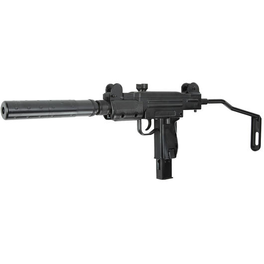 Umarex IWI Mini UZI mit Silencer CO2 Blowback 6mm BB schwarz