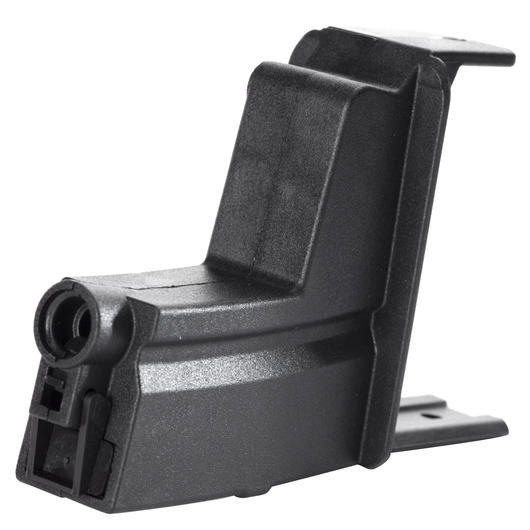 ICS MP5 Magazinadapter f. ICS Drum Magazin schwarz MC-203