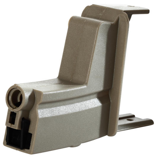ICS MP5 Magazinadapter f. ICS Drum Magazin Dark Earth Tan MC-204