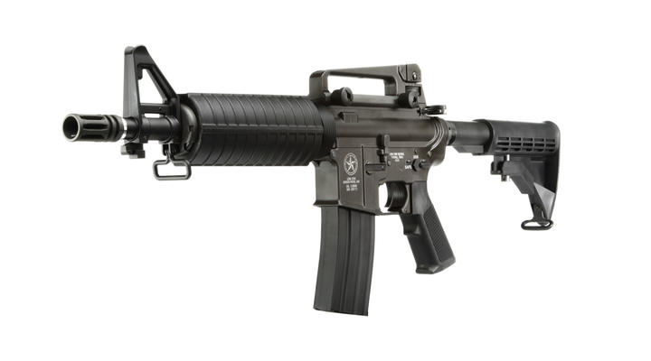 Evolution Airsoft Lone Star Border Patrol SBR Vollmetall S-AEG 6mm BB schwarz