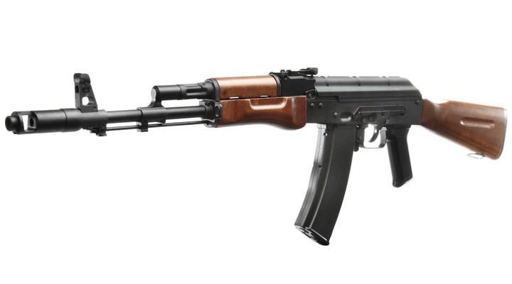 SRC AK-74N Vollmetall Echtholz Gas-Blow-Back 6mm BB