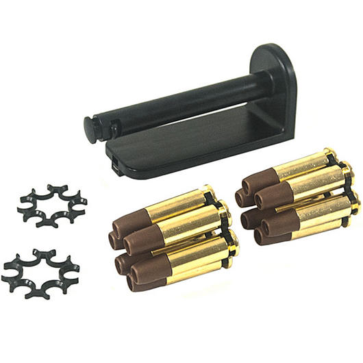 ASG Dan Wesson Moon Clip Set mit 12 Ersatzhülsen - 6mm BB Airsoft Version