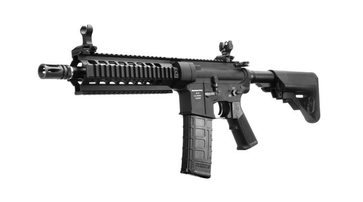 King Arms Oberland Arms OA-15 M8 Vollmetall S-AEG 6mm BB schwarz
