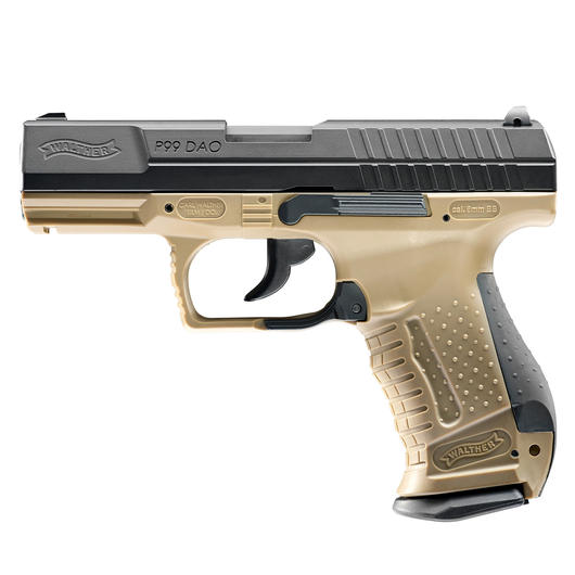 Walther P99 DAO RAL 8000 6 mm BB CO2