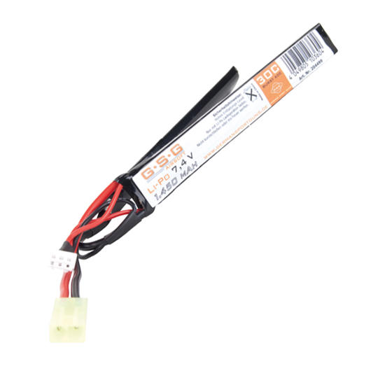 GSG LiPo Akku 7,4 V 1450 mAh 30C Double-Panel