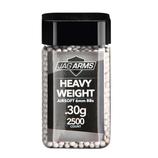 Jag Arms Heavy Weight Series BBs 0,30g 2.500er Container weiss