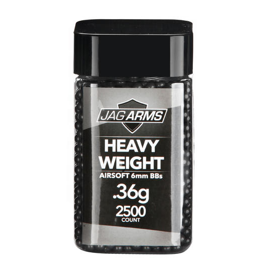 Jag Arms Heavy Weight Series BBs 0,36g 2.500er Container dunkelgrau