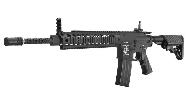 G&P Knights Armament SR-16 M4 URX2 Vollmetall S-AEG 6mm BB schwarz - High Speed Version