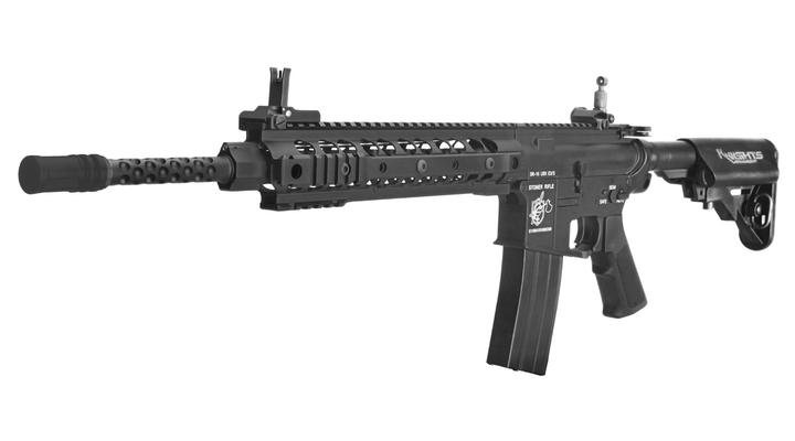 G&P Knights Armament SR-16 URX3 Vollmetall S-AEG 6mm BB schwarz - High Speed Version