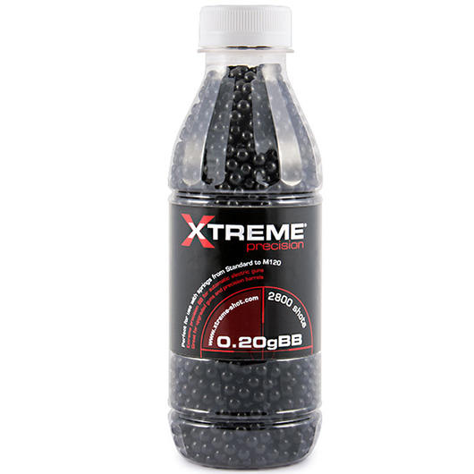 Xtreme Precision BBs 0.20g 2.800er Flasche Invisible Black
